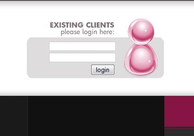 an example of very bad login form design