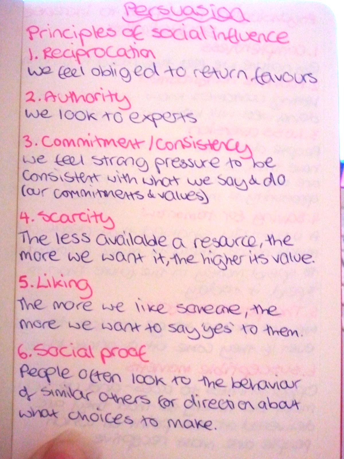 Principles of persuasion image