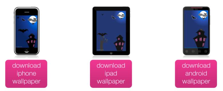 free halloween mobile wallpaper