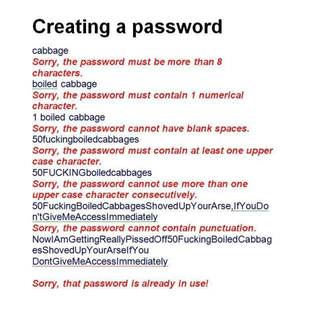 Why people hate passwords